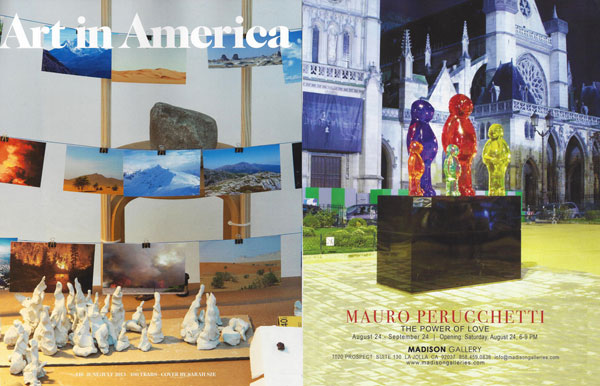 568 Art In America   Mauro Perucchetti 2013 recent press press mauro perucchetti press art in america