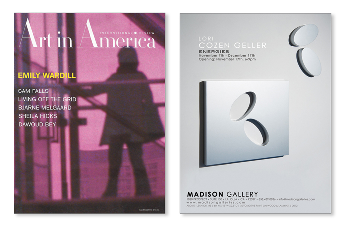 AIA cozengeller2012 Art In America   Lori Cozen Geller 2012 press lori cozen geller press art in america
