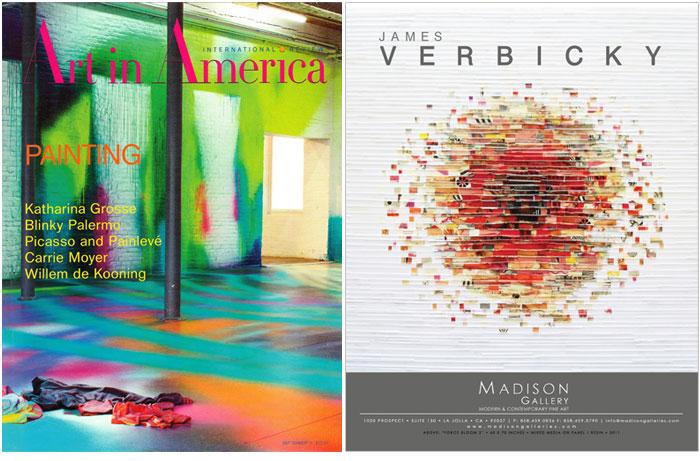 ArtInAmerica Verbicky 2011 Art In America   James Verbicky 2011 press james verbicky press art in america